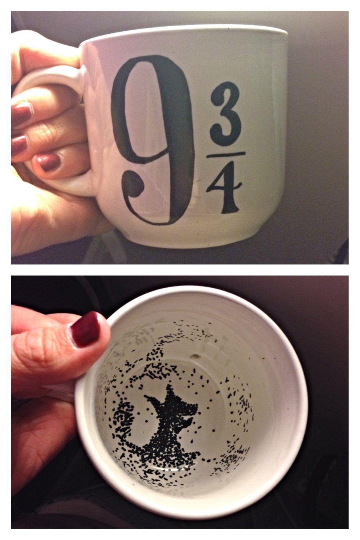 harry potter mug by Krafternal on Etsy https://www.etsy.com/listing/218235888/harry-potter-mug