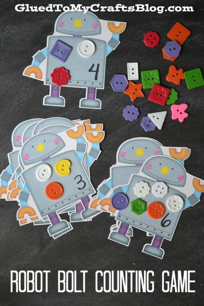 Counting Ants Game For Toddlers Free Printable Included