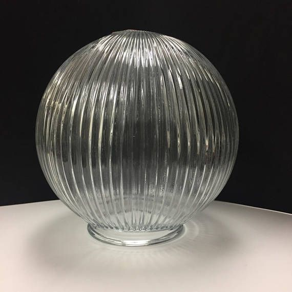 Clear Glass Globe Replacement Light Fixture Cover For Ceiling