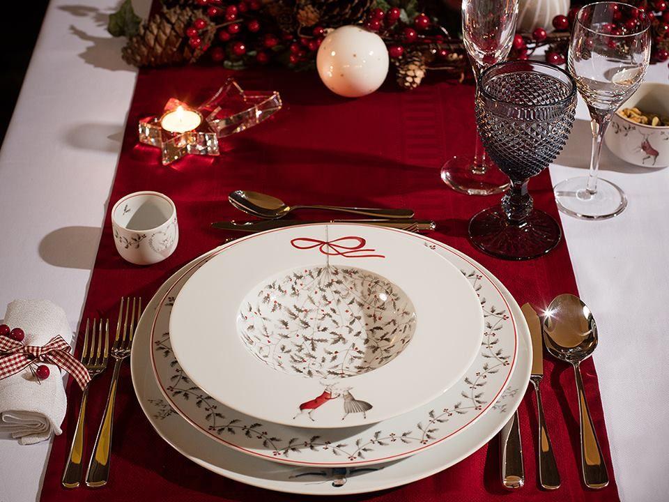 Nöel é uma nova colecção de natal para mesa, desenhada pela artista portuguesa Teresa Lima.