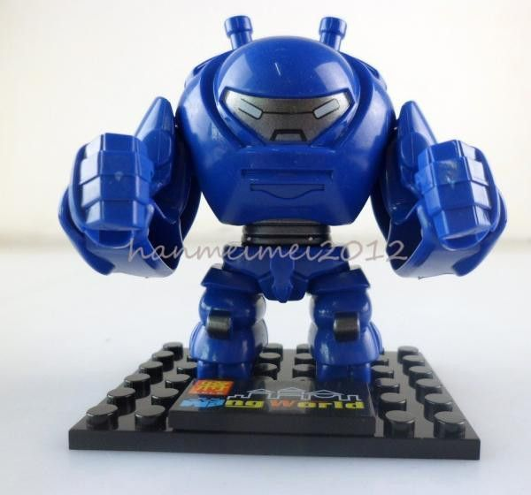 Minifigures - Hulkbuster
