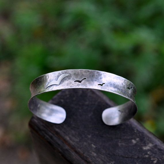 Sterling Anti Clastic Cuff Oxidised Sterling by christinewalsh