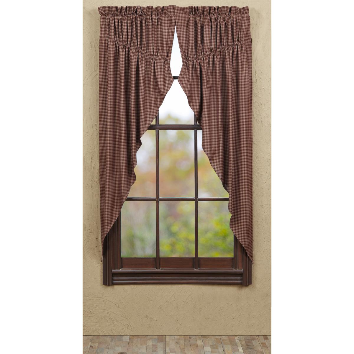 Bancroft Prairie Curtain 63x36x18 - Set of 2