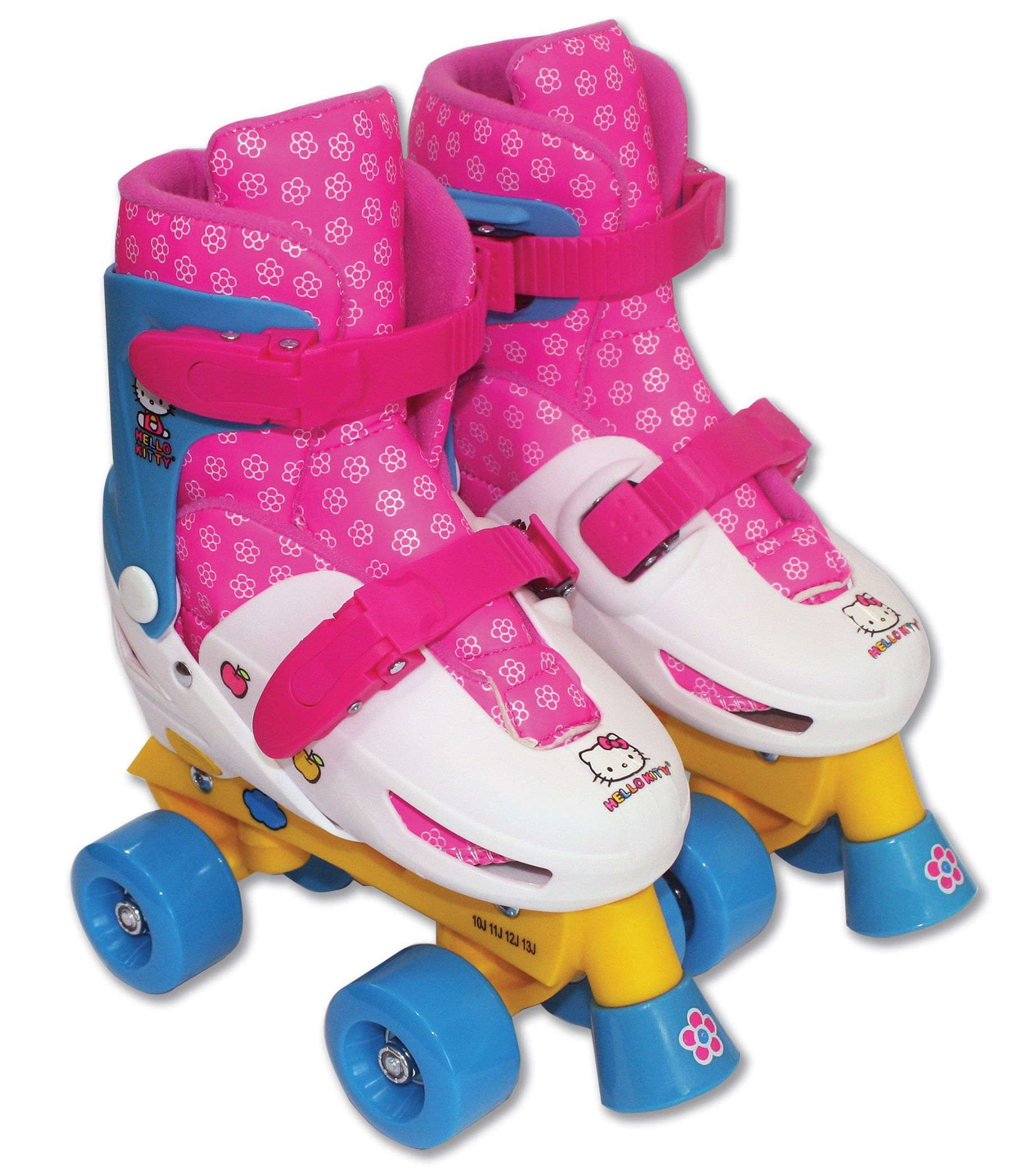 Roller skate shoes size 10 - Hello Kitty Adjustable Quad Roller Skate Size 10 13