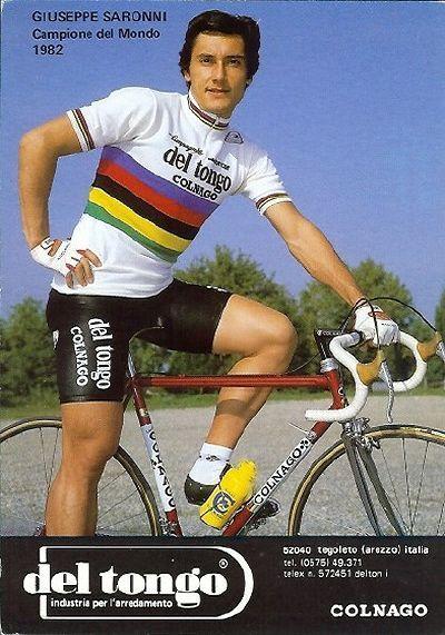 Giuseppe Saronni (1957). Campione del Mondo 1982. G.S. Del Tongo Colnago  1983 6b9c9332e