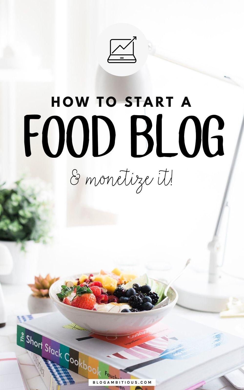 How To Start A Food Blog Food Blog Cooking Blog Instagram Food