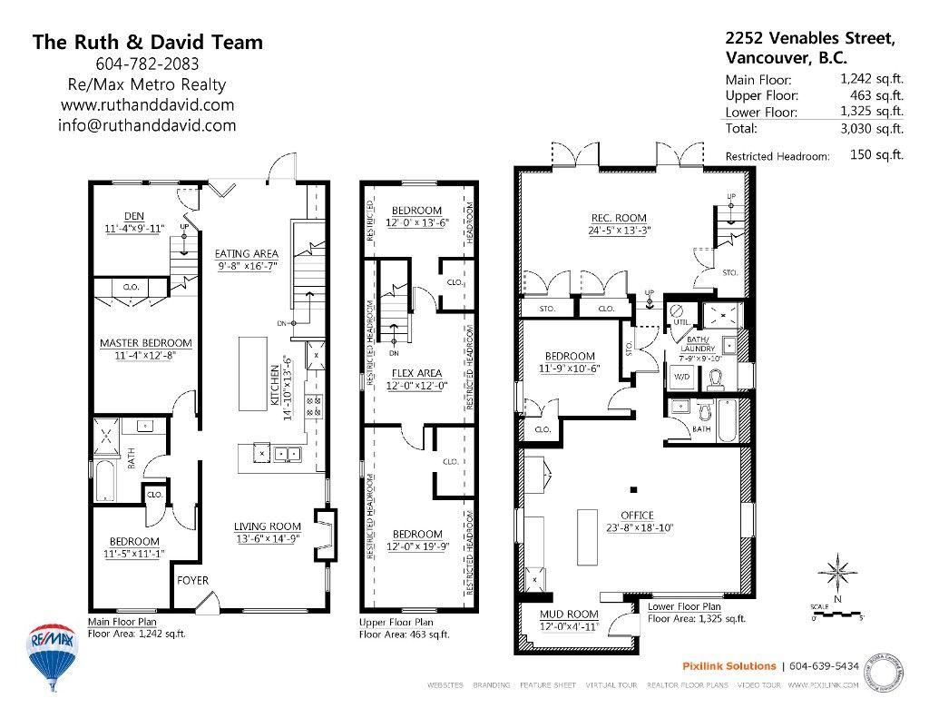 2252 Venables Street In Vancouver Floor Plans House