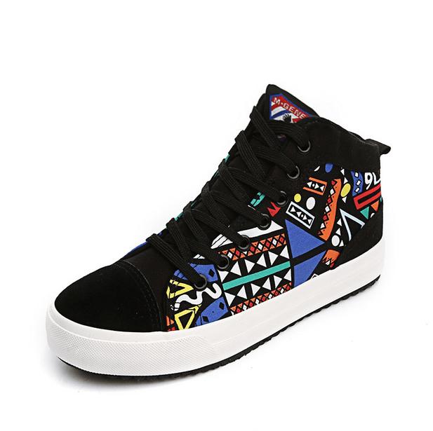 ddf122c8a30 African print women sneaker