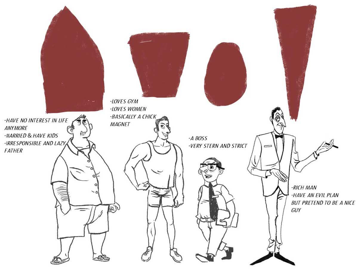 Fundamentals of Character Design - CGMA 2D Academy   Saddiq Salleh
