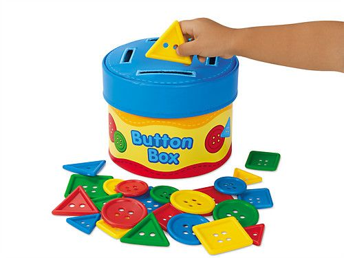 Button Size Sorting Box Learning Toys Toys For 1 Year