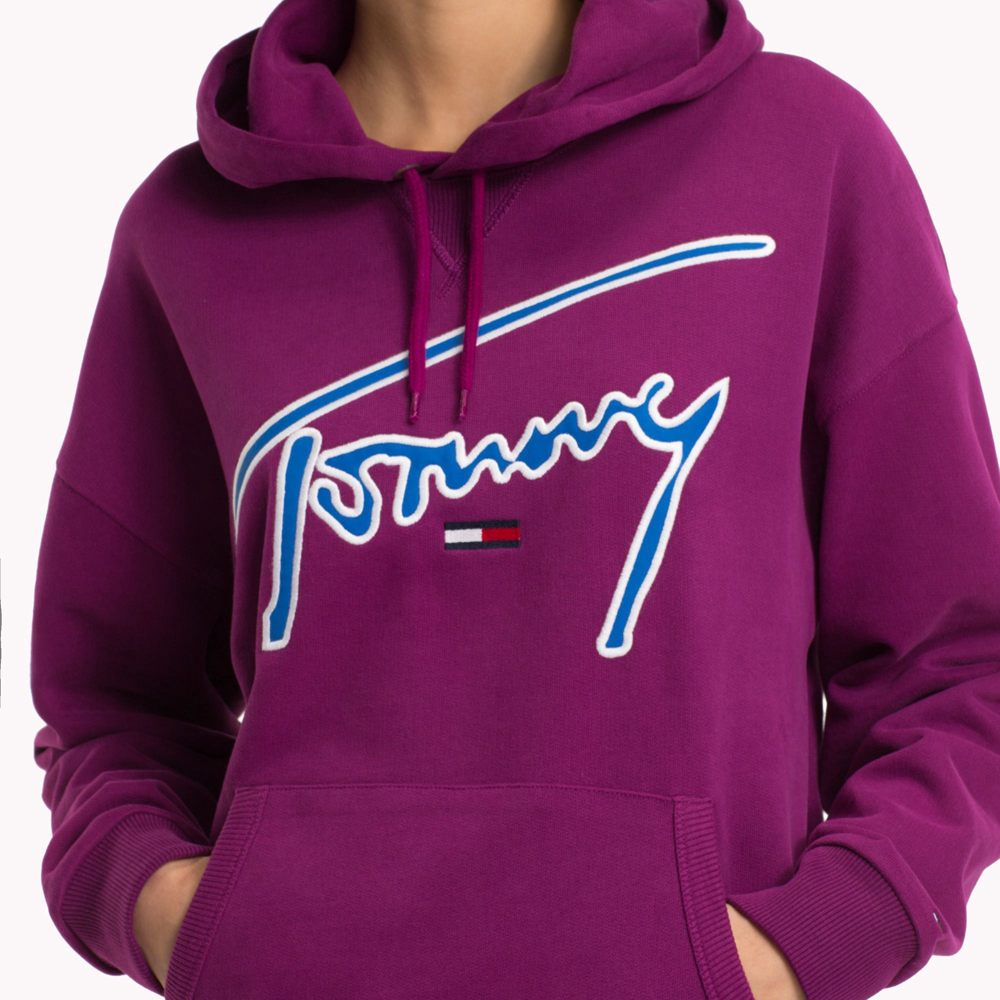 Tommy Hilfiger Jeans Xplore Signature Hoodie S Tommy