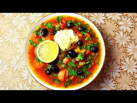 суп-сборная солянка рецепт