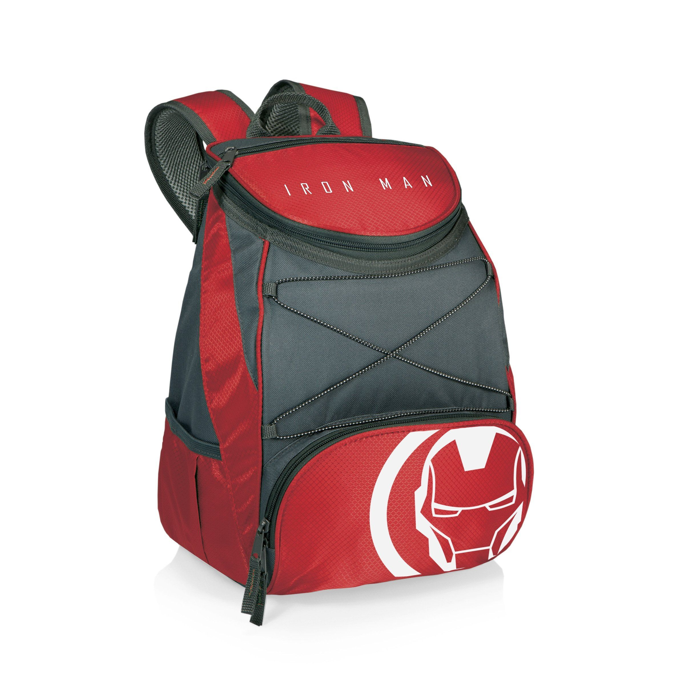 Picnic Time Ironman PTX Cooler Backpack Red Insulated