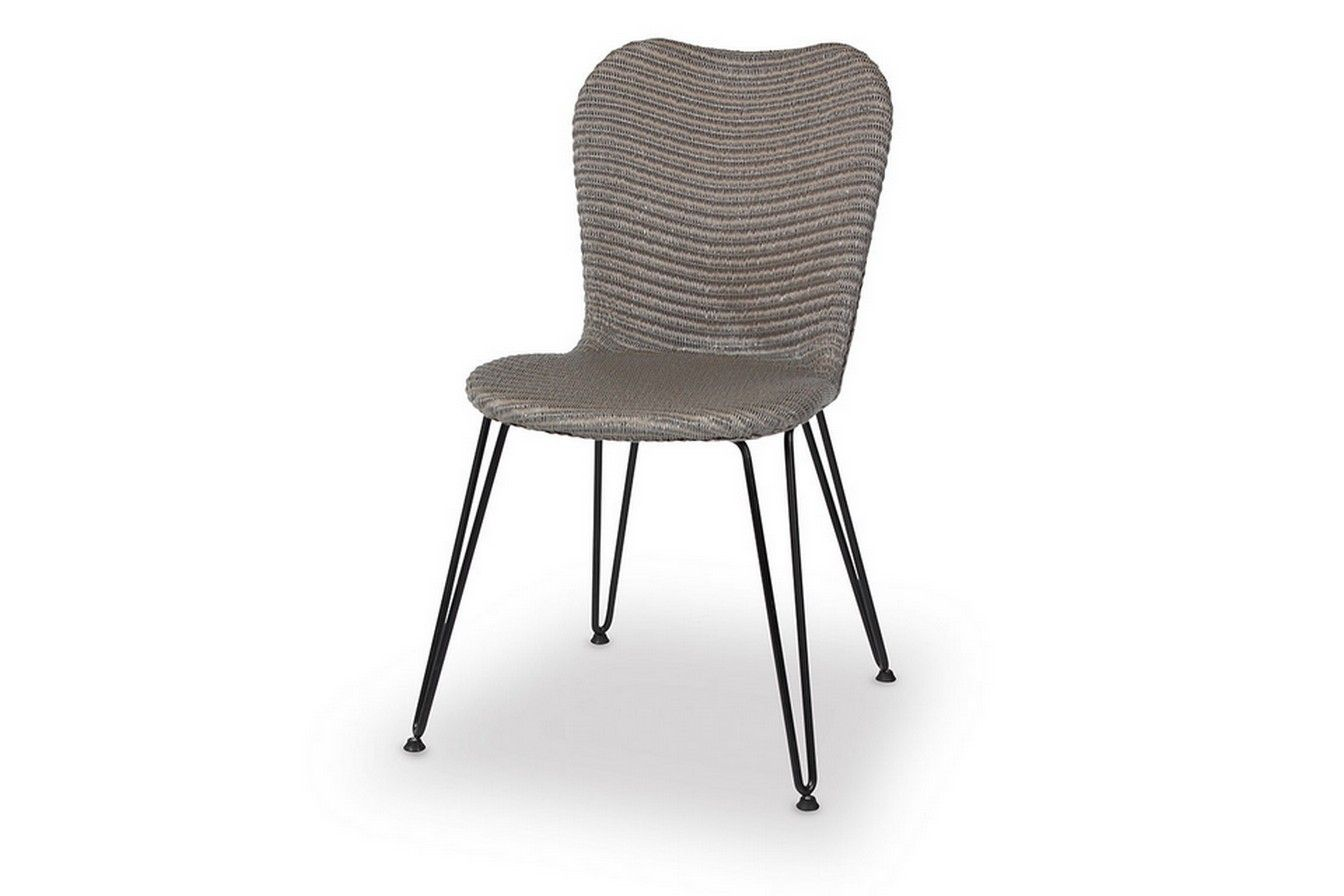 stuhl lloyd loom geflecht grau st hle sitzgelegenheiten st hle chairs stools and more. Black Bedroom Furniture Sets. Home Design Ideas