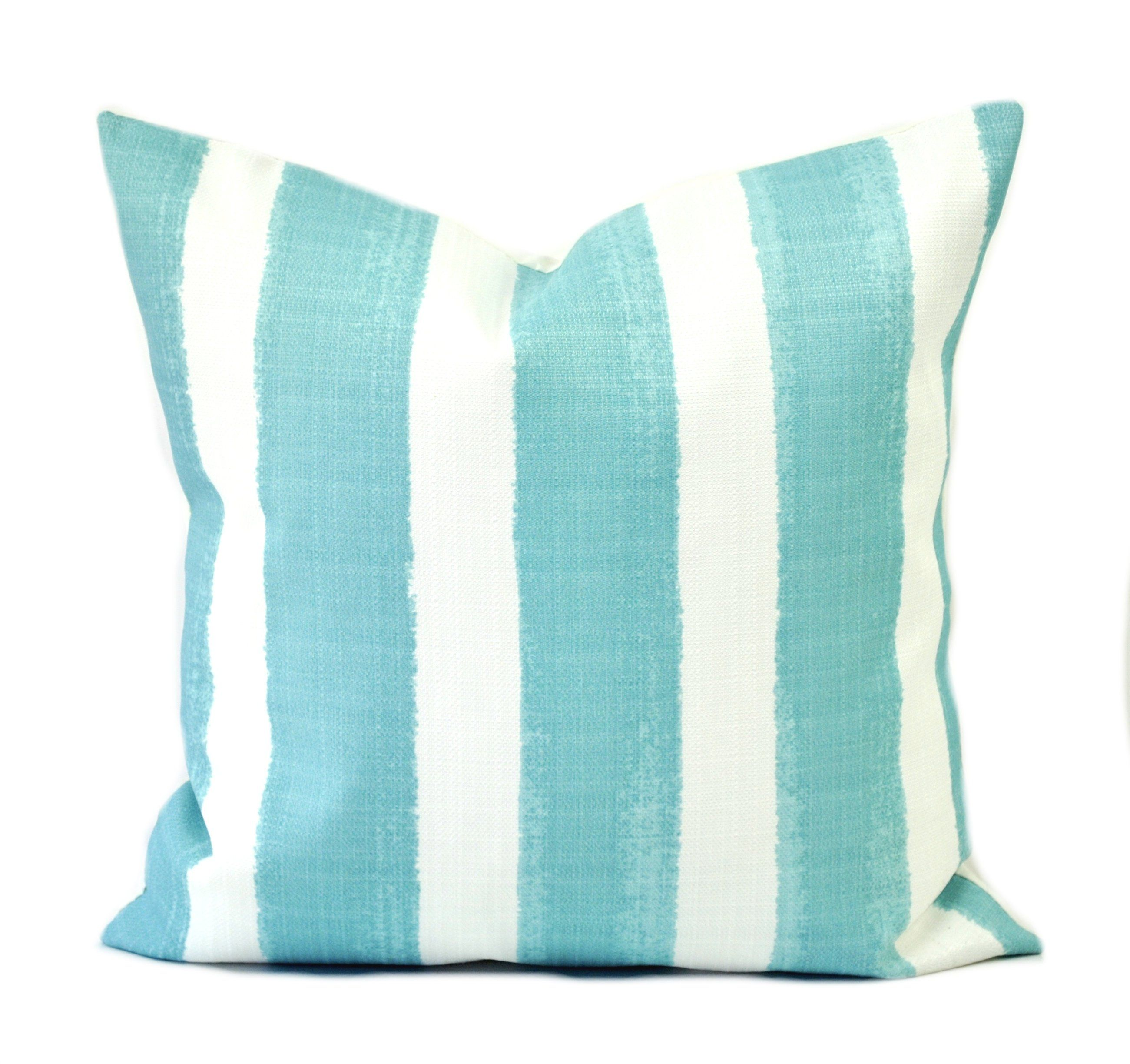 Striped Outdoor Pillow Cover Cushion