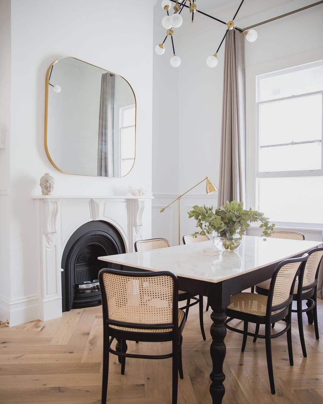 Interior Design Inspiration Photos By Laura Hay Decor Design: This Edwardian Gem Doesn't Skimp On The Details, Complete