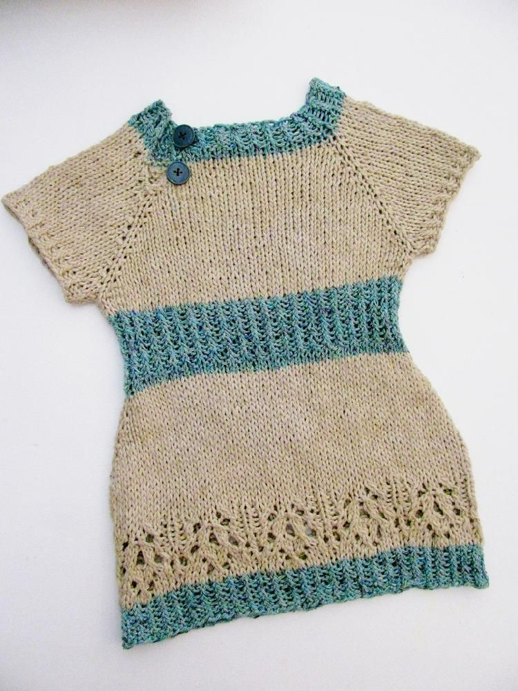 5 Fabulous Free Summer Dress Knitting Patterns For Girls Knitting