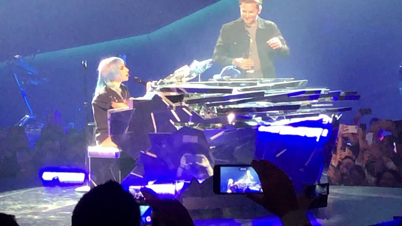 Lady Gaga And Bradley Cooper Shallow Live At Enigma Las Vegas
