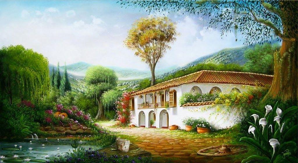 Landscape Paintings Colombia