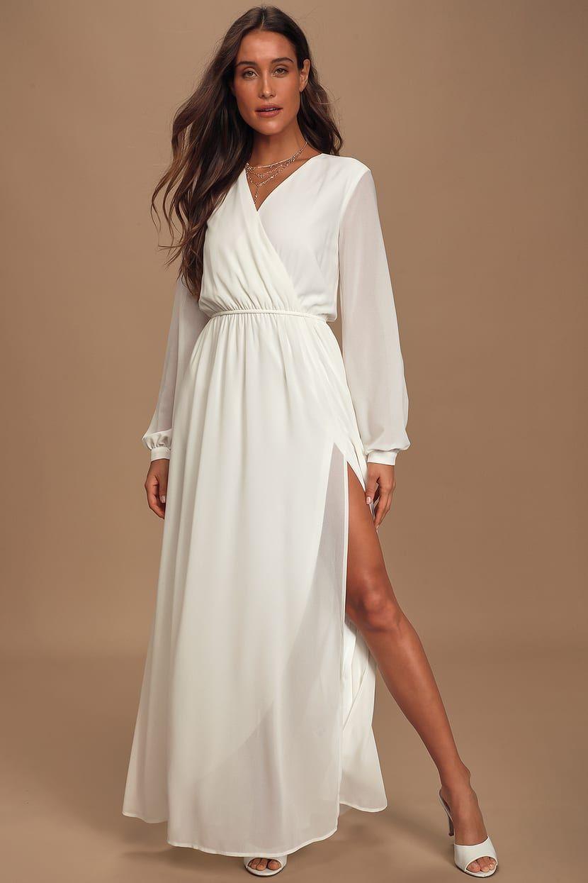 Wondrous Water Lilies White Maxi Dress White Maxi Dresses Long Sleeve Maxi Dress Outfit Long Sleeve White Maxi Dress [ 1245 x 830 Pixel ]