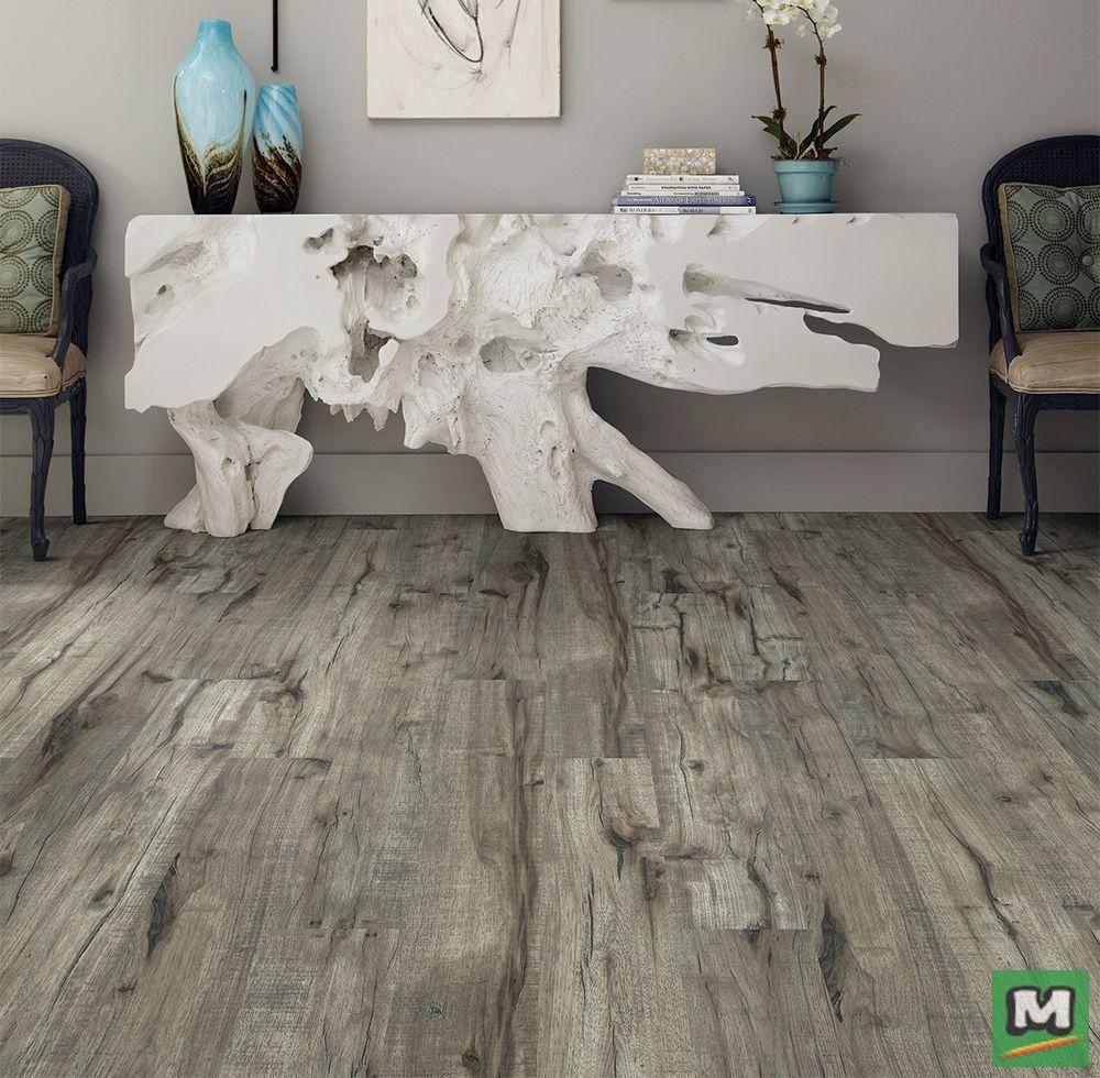 Shaw Repel Peak Finish Laminate Flooring Is Resistant To Everday