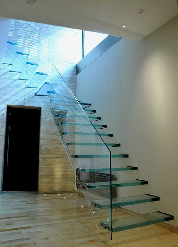 7 Ultra Modern Staircases Modern Staircase Stairs Design Glass Stairs