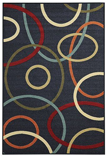 Anti Bacterial Rubber Back Area Rugs Non Skid Slip 3x5 Fl
