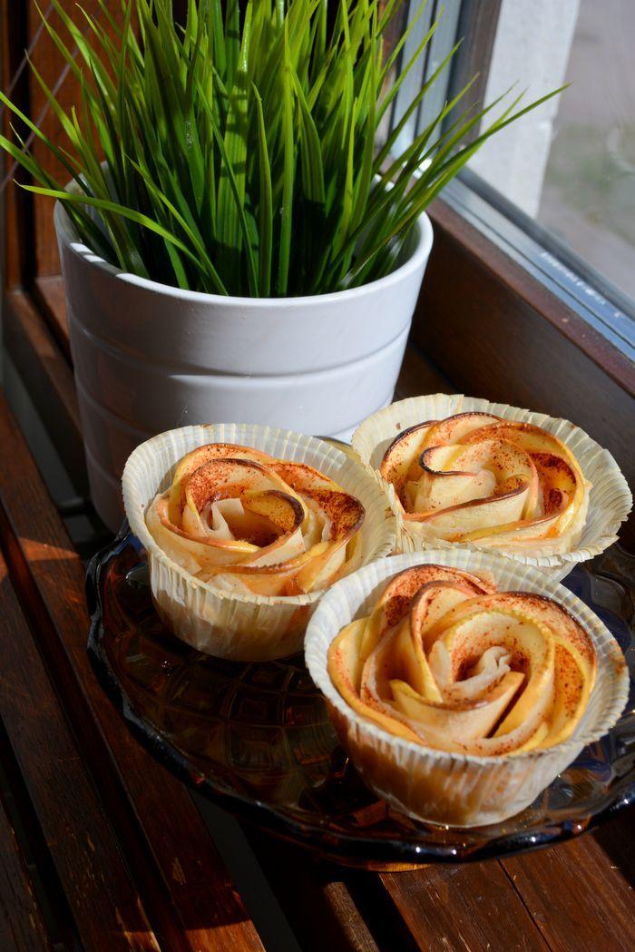 äppelrosor i smördeg recept