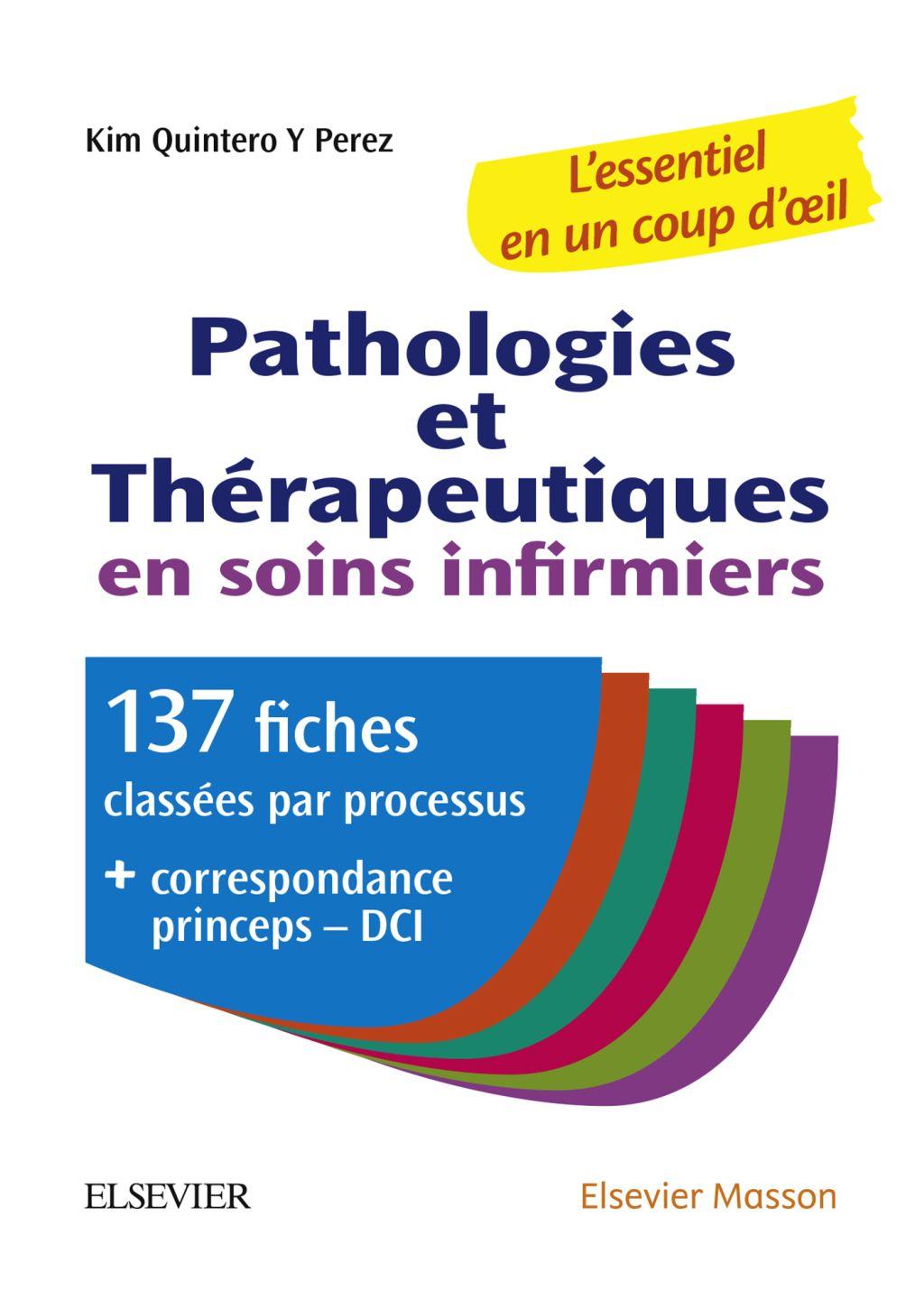 Pathologies Et Therapeutiques En Soins Infirmiers Ebook En