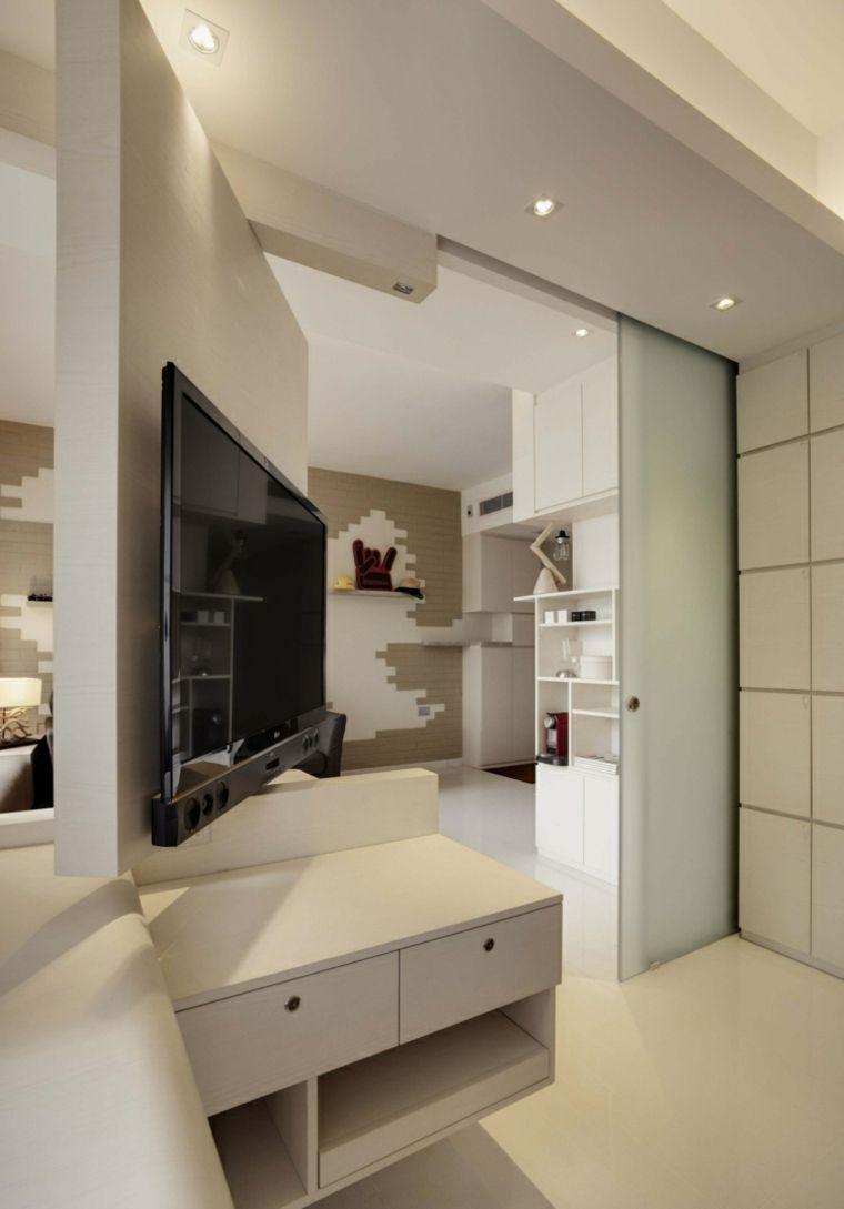 Apartamentos distribucion y dise o para interiores Diseno interiores apartamentos pequenos