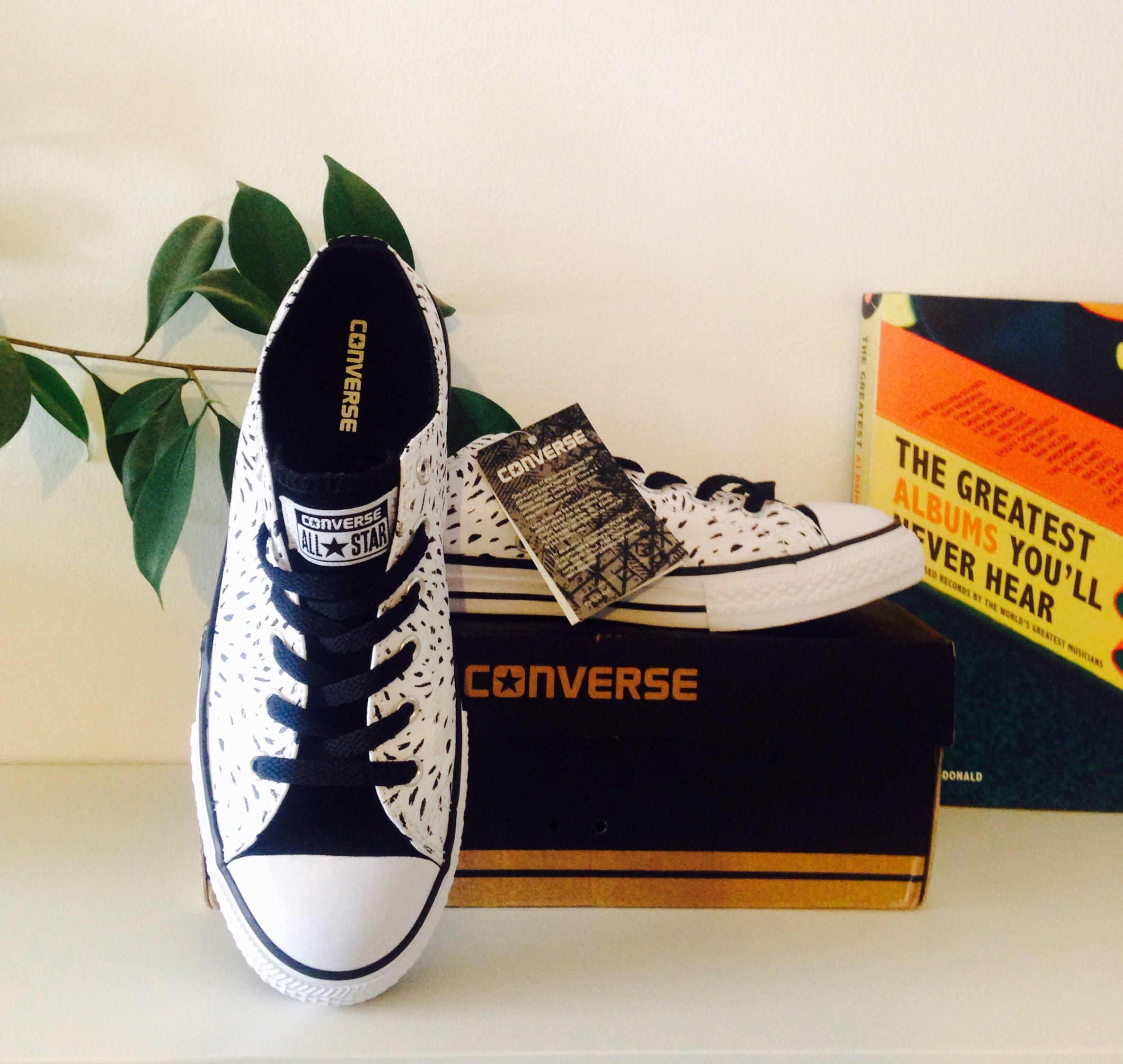 6fb8cb87d5da NEW Rare vintage style rare leather animal print black and white genuine  Converse all stars. Size 5 5.5 6 Excellent condition. Summer. by  FreerStyling on ...