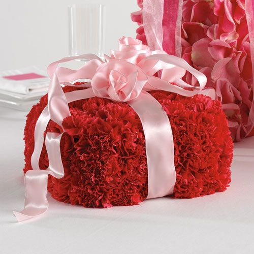 Gift Box Centerpieces Carnation Gift Box Centerpiece 65 11
