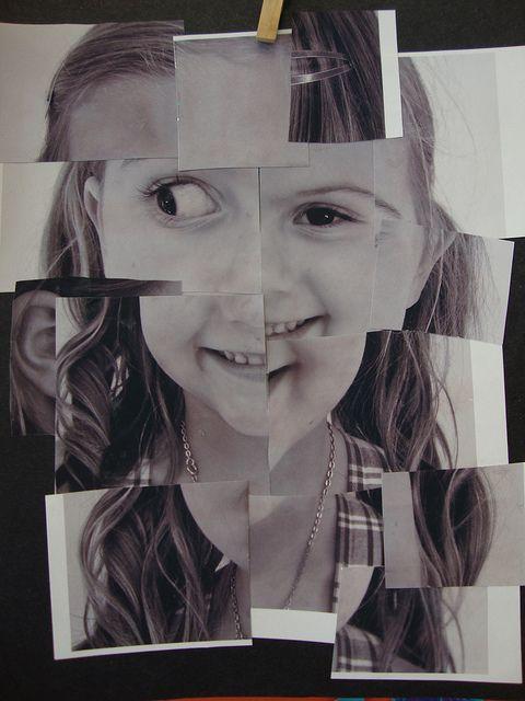 Hockney mixed up faces   Self Portrait Ideas   Pinterest