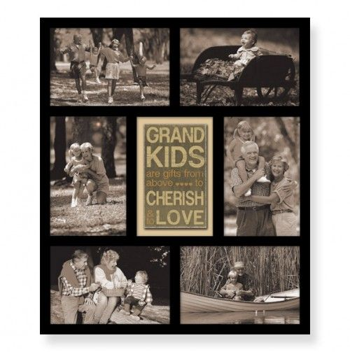 Grandkids Multi Opening Collage Picture Frame