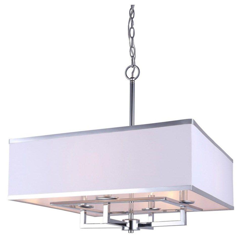 canarm lighting ich577a04ch22 vienna 4 light chandelier in chrome