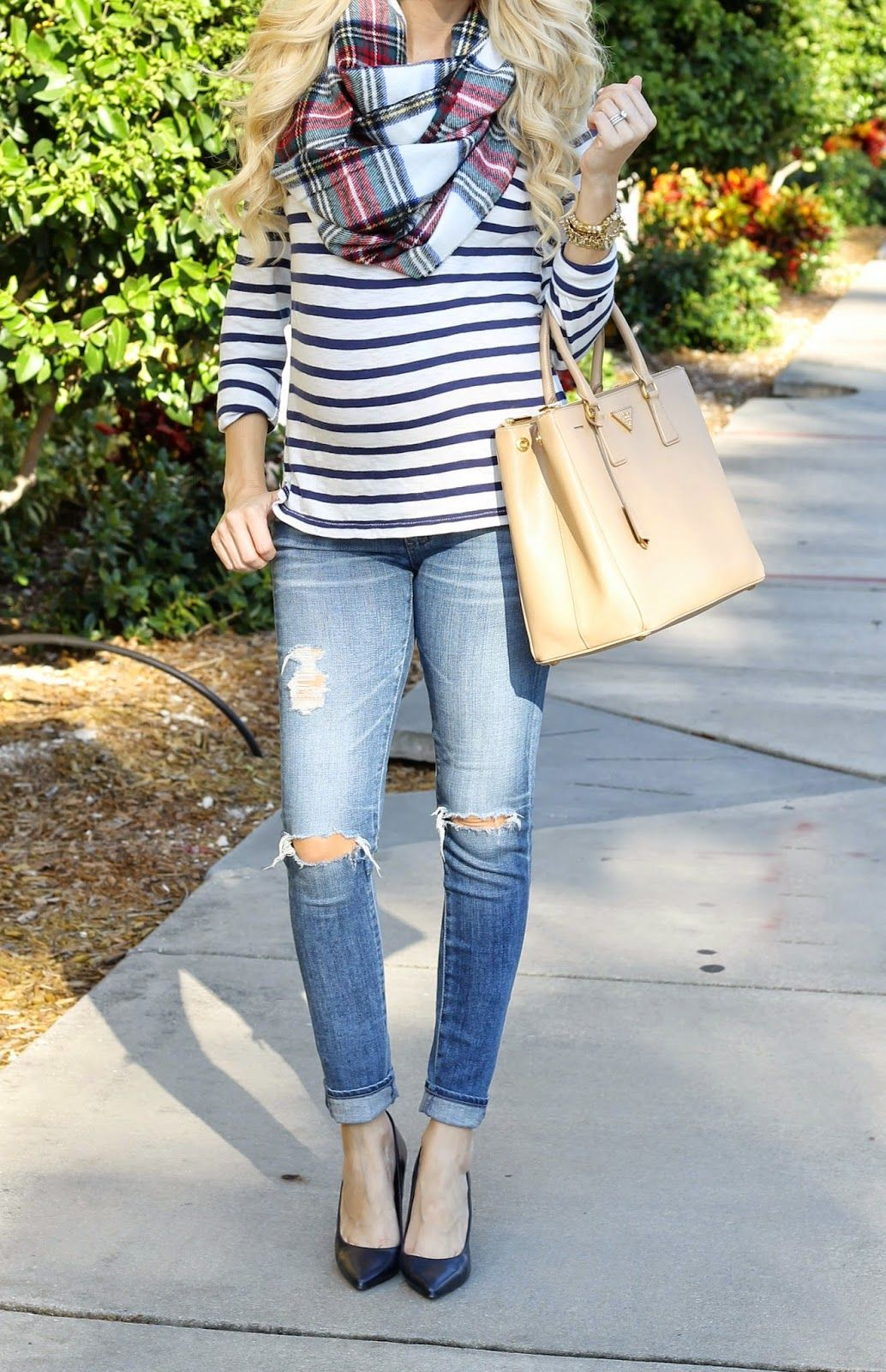 A Spoonful of Style: Plaid And Stripes