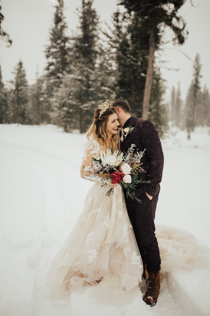 Logan Caleb Styled Elopement Winter Wedding Christmas