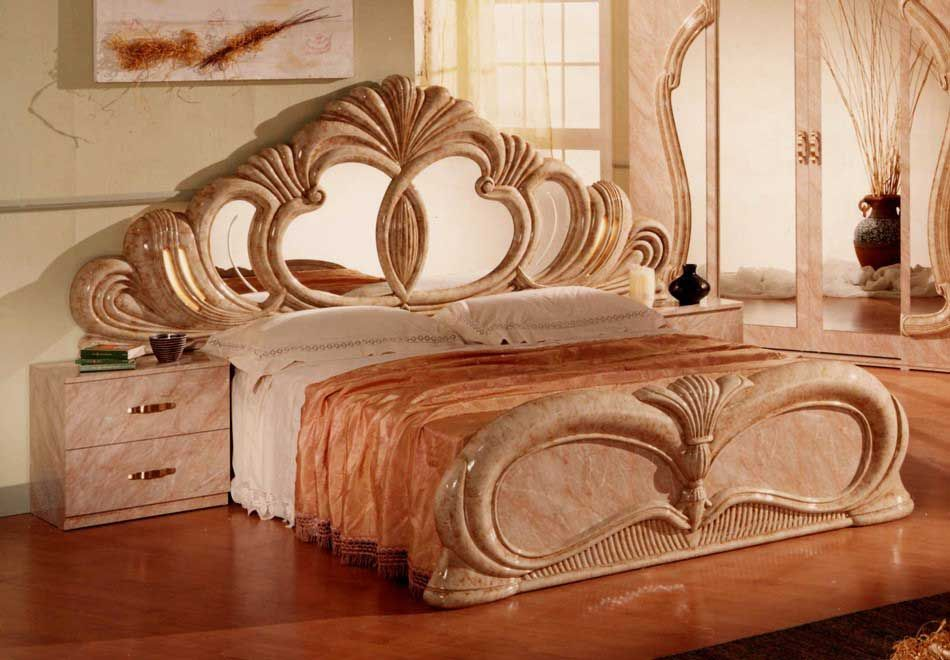 Gina Salome Marble Italian Classic 3 Piece Bedroom Set Marbles Bedrooms And Check Stock