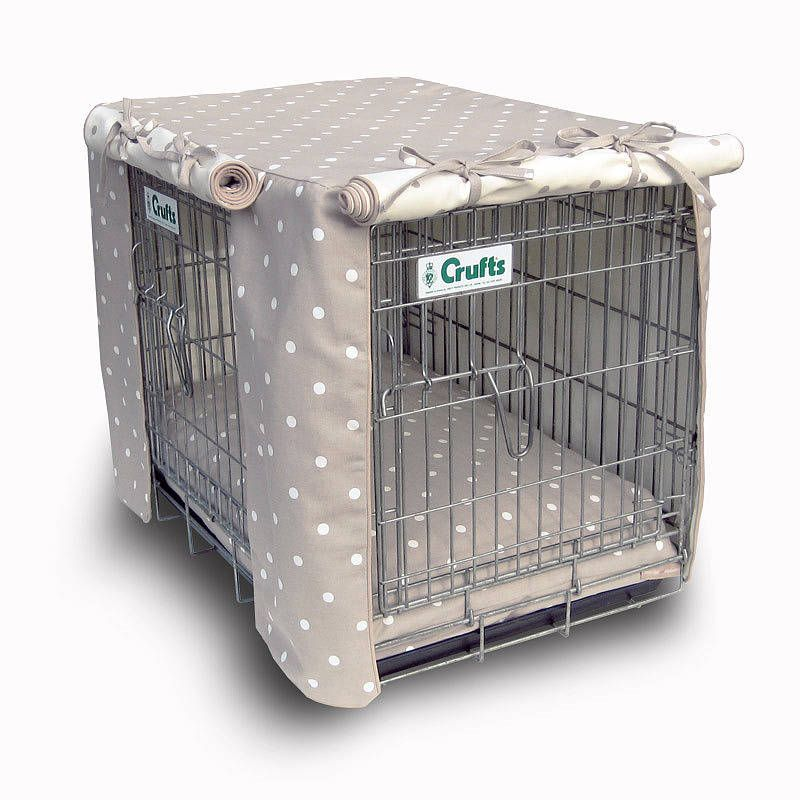 LOVE THIS! But so expensive! £99 Crate Cover & Dog Bed - Two Door ...
