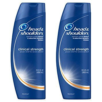 Head And Shoulders Clinical Strength Dandruff And Seborrheic Dermatitis Shampoo 13 5 Fl Oz Head And Shoulders Shampoo Dermatitis Shampoo Anti Dandruff Shampoo