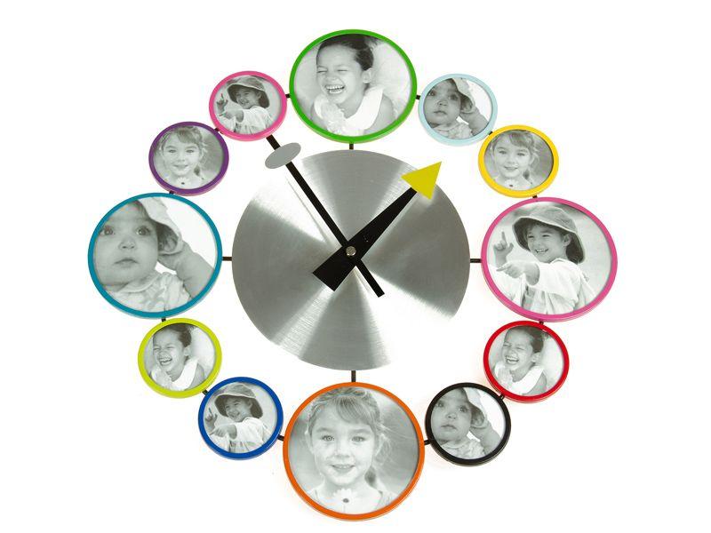 Reloj pared metal. www.actuadecor.com   Relojes   Pinterest   Reloj ...