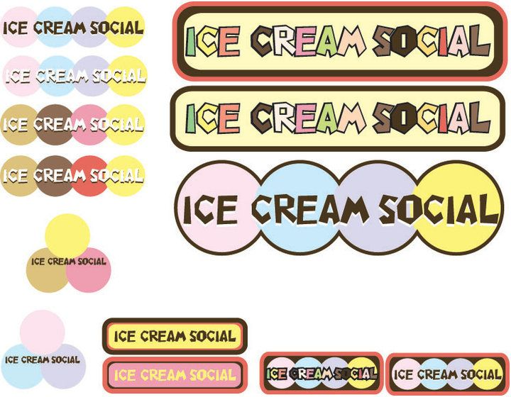 Ice Cream social template | Free Label Templates/Printables ...