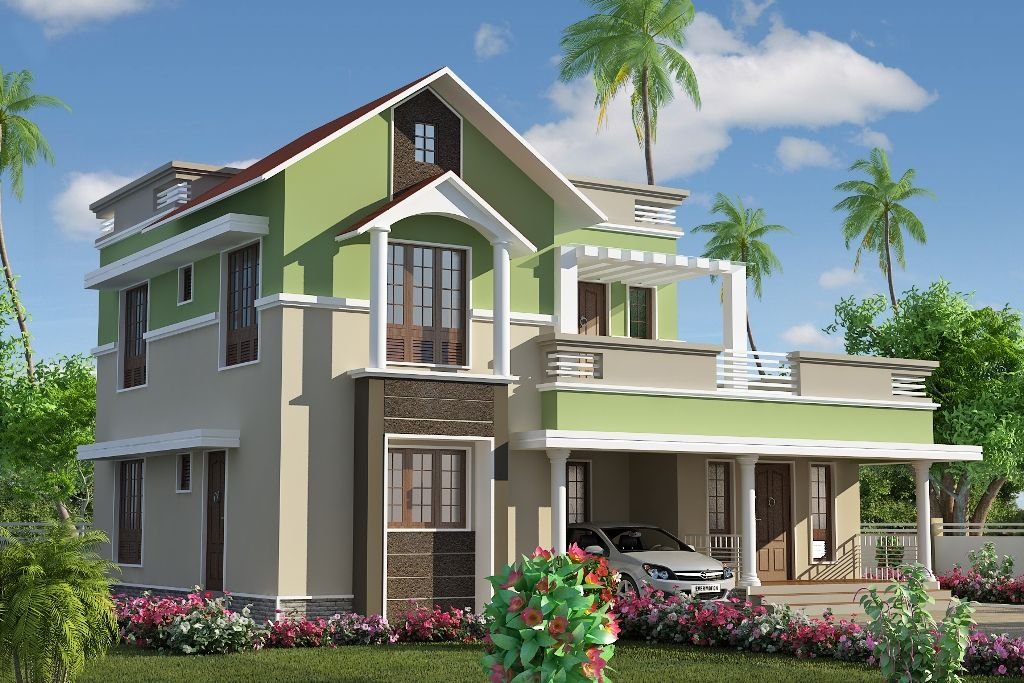 Merveilleux Design Your Home | 1x1.trans Dual Roof Awesome Kerala House Design At 1785  Sq