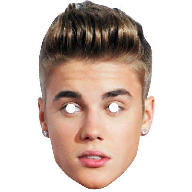 Justin Bieber Celebrity Mask