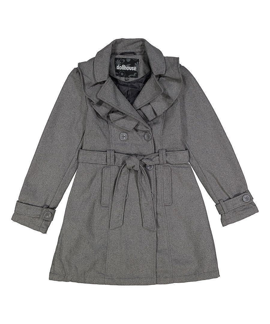 Chillipop Girls Belted Faux Fur Vest