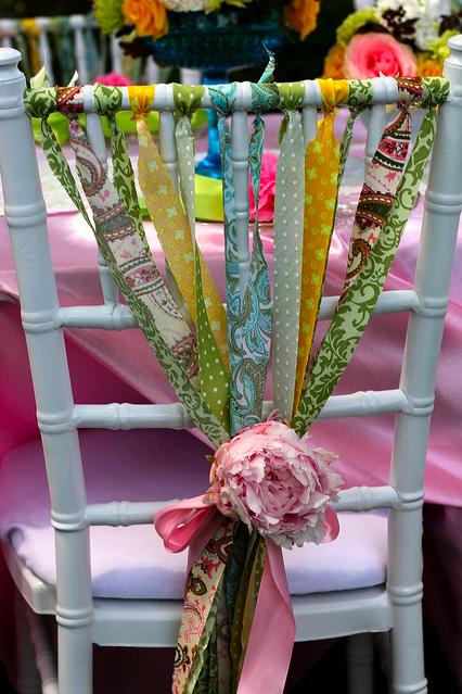 la decoración de mis mesas: Ideas para fiestas: Decorar las sillas I ...