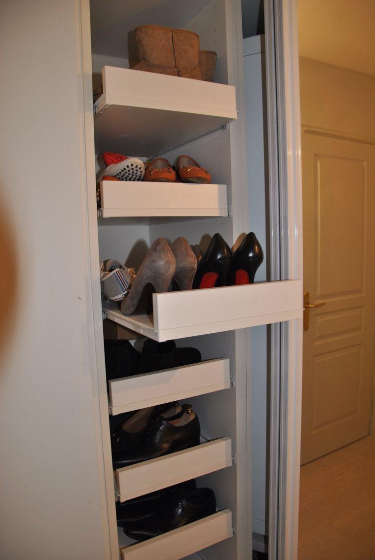 placard chaussure entr e pinterest placard entr e banc et chaussure. Black Bedroom Furniture Sets. Home Design Ideas