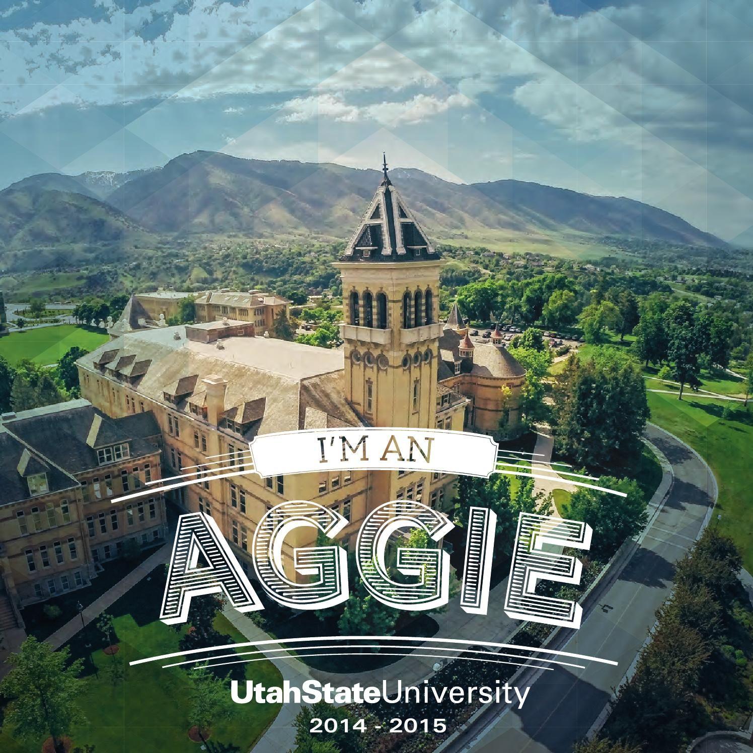 Utah State University, Viewbook 2014-15 | Study, Eat, Sleep