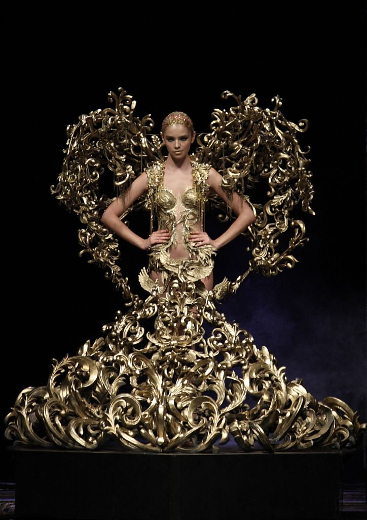 Tex Saverio Gold Couture Gold *~ Ophelia Ryan *~ | Dresses ...