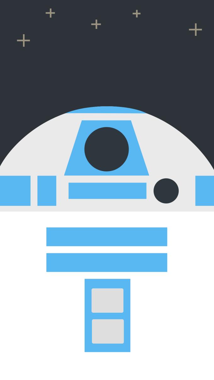 スター ウォーズ フォースの覚醒 R2 D2のどアップ Star Wars